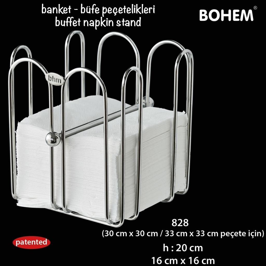 Büfe Peçetelik 30x30 / 33x33 cm peçete için