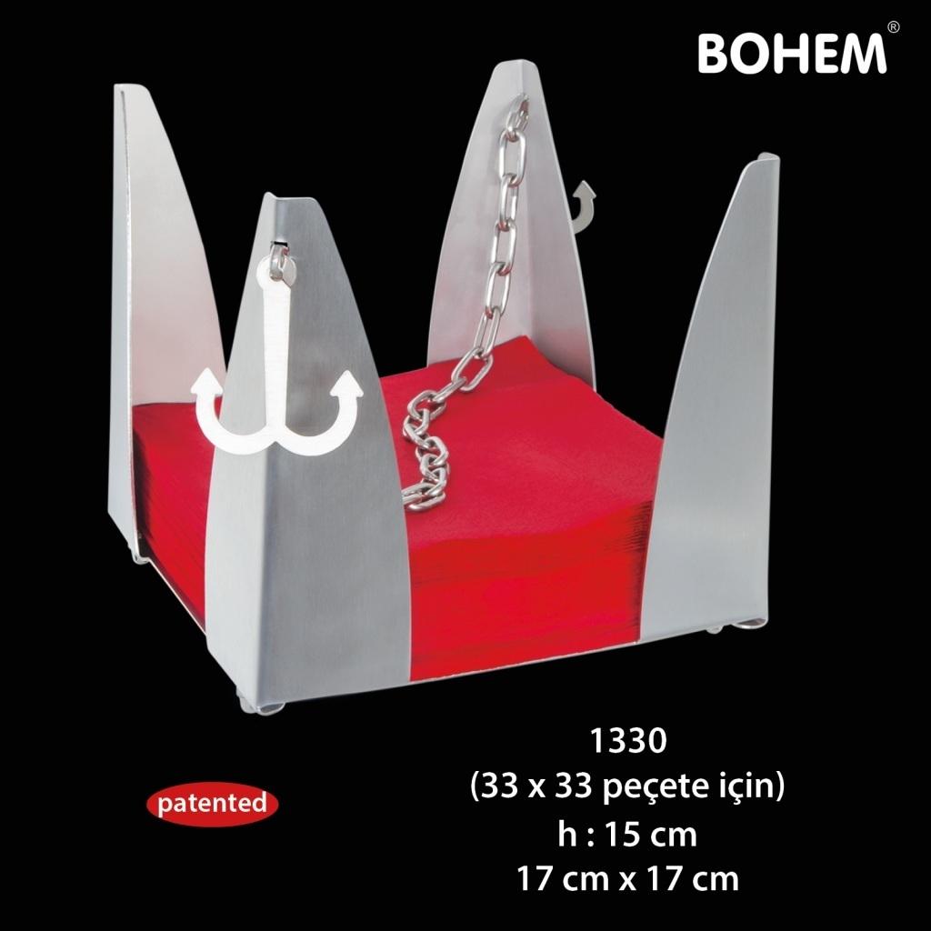 Büfe Peçetelik 33x33 cm peçete için