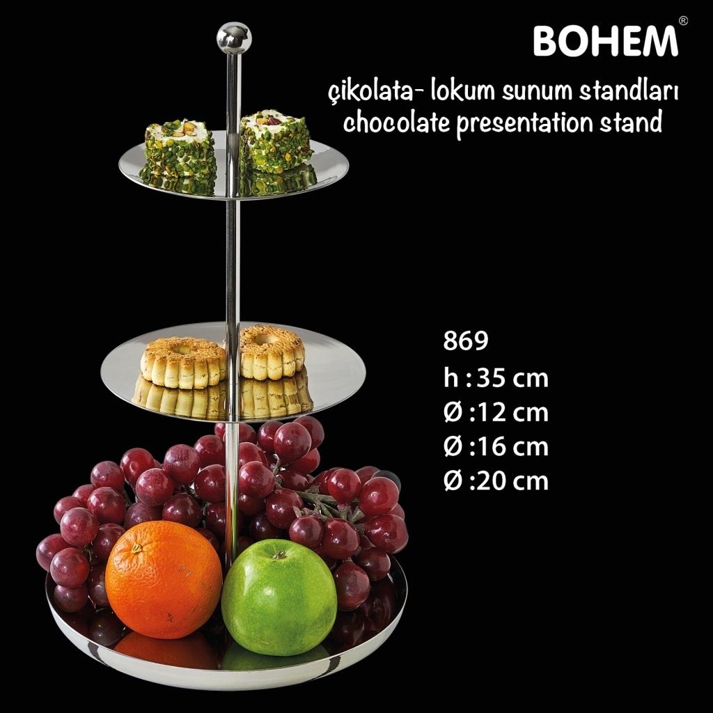 Çikolata - Lokum Sunum Standı