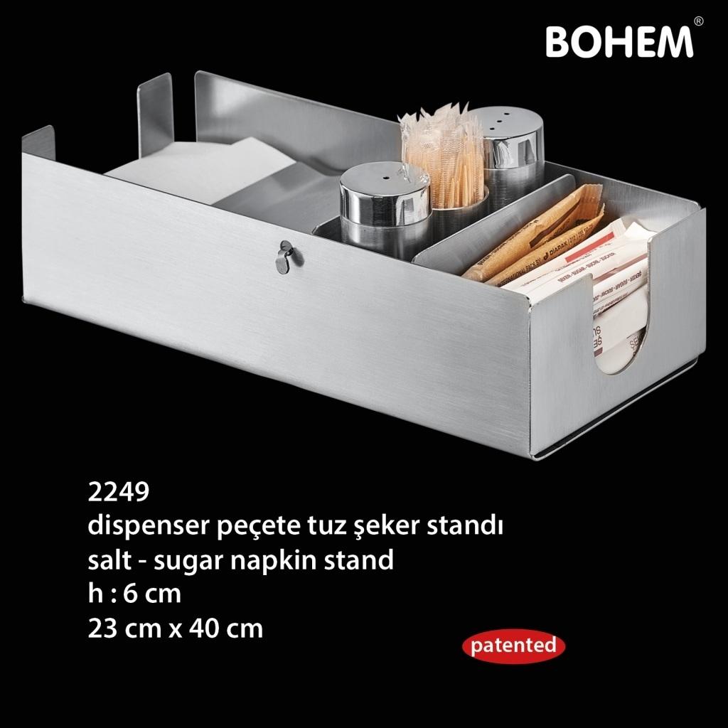 Dispenser Peçete - Tuz - Şeker Standı