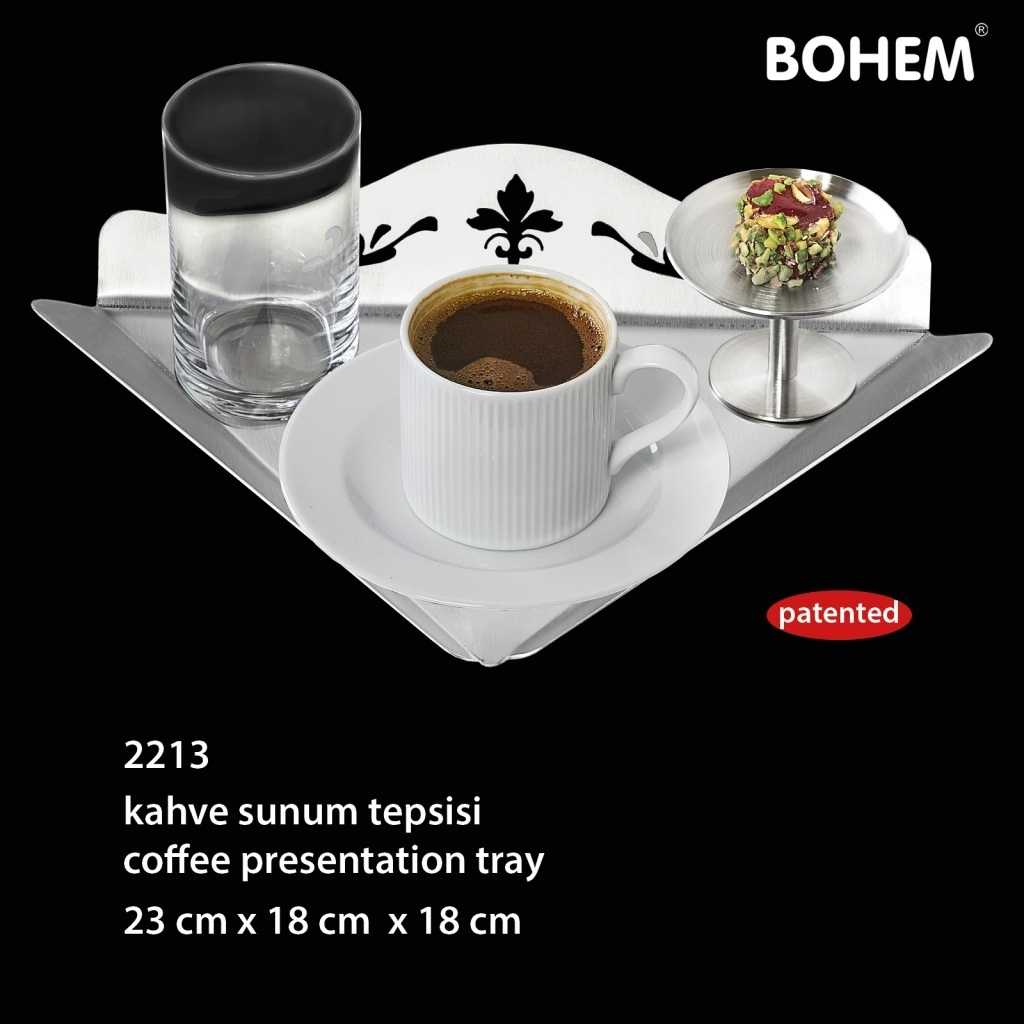 Kahve Sunum Tepsisi
