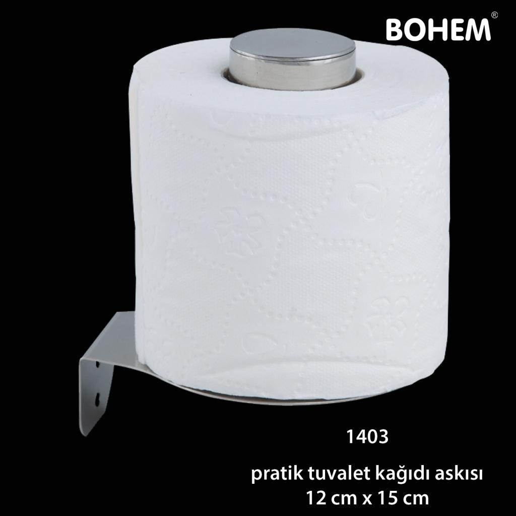 Pratik Tuvalet Kağıdı Askısı